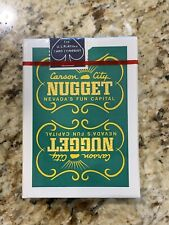 Rare Sealed Unopened Deck Carson Nugget Casino Carson City, Nevada Playing Cards