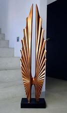 Wunderschöne Riesengroße Skulptur in Rosengold, Höhe 190 x 50 cm. WoW!!