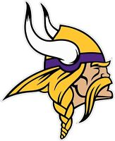 Minnesota Vikings NFL Color Die Cut Vinyl Decal Sticker - You Pick the Size