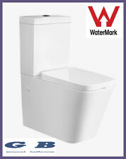 CERAMIC BACK TO WALL TOILET SUITE  SOFT CLOSE SEAT