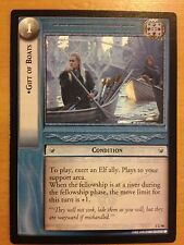 Lord of the Rings CCG Fellowship 1U46 Gift of Boats LOTR TCG