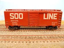 HO SCALE KAR-LINE SOO LINE 43921 40' BOX CAR