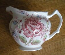 Q10132: One Creamer, Rose Chintz Pink, Johnson Brothers, England