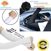 Unisex for Men Women Girls Boy 1-5 pairs (10pcs) UV Cooling Arm Sleeves Cover US