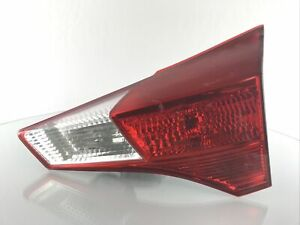 2013-2015 Toyota RAV4 Tail Light Lamp Inner RH/Passenger OEM Used 81580-0R010