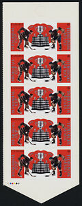 Canada 3101a Left Booklet Pane MNH Memorial Cup, Ice Hockey