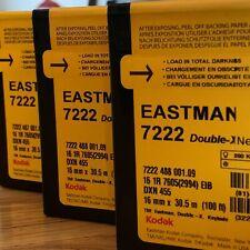kodak Double-X 16mm EASTMAN 7222 Black & White Film/ Brand New, FACTORY FRESH