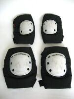 Harbinger Pro Black Elbow & Knee Pads Modern Skate 431 E's & K's Size Large