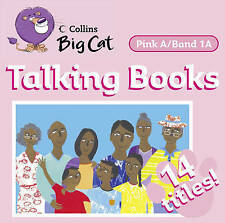 Collins Big Cat Audio - Talking Books: Band 1A/Pink A, Authors, Various, New Boo