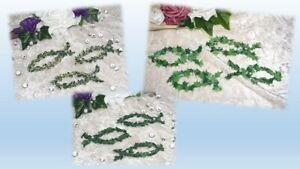 10 Fische Tisch- Deko Streudeko Beeren- Buchsbaum Efeu Hochzeit Kommunion Taufe