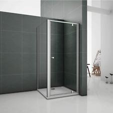 1000x800mm Framed Pivot shower Enclosure Glass Panel Door Tray CV