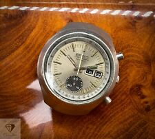Vintage Seiko 6139-7100 Helmet Automatic Chronograph - Running For Service (170)