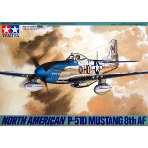 Tamiya 61040 1/48 North American P-51D Mustang 8th Air Force Plastic Model Kit B