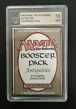 Antiquities Booster ACA GRADING 10 - Pack Sealed Unsearched - MTG Magic