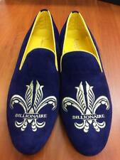 """Slippers (Homme) """"BILLIONAIRE Couture  pointure:42    Bleu violâtre et or"""