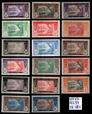 COTE D'IVOIRE : Série 41 à 57, Neufs * = Cote 56 € / Lot Timbres COLONIES