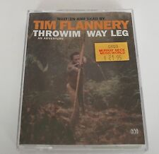 Throwim Way Leg 2xswc: 2 Spoken Word Cassettes by Tim Flannery (Audio cassette,