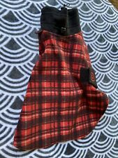 New listing Ultra Paws Cozy Comfy Fleece Red Plaid Coat Jacket Xxs No Tags New
