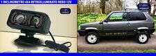 Inclinometro fiat panda 4x4 jeep retroilluminato fuoristrada 12 volt rollio per