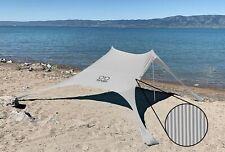 Shades Large Beach Shelter Stripes | Sun Shade