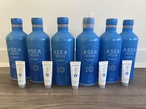 6 BOTTLES ASEA REDOX 10 Year Anniversary+6 Renu+Free Shipping