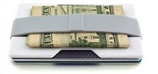 Stylish Money Clip (Holds 10 Cards + Cash) - Perfect Minimalist Wallet and Card