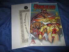YOUNGBLOOD IMPERIAL #1 Signed Comic by ROB LIEFELD w/COA ~Robert Kirkman Story