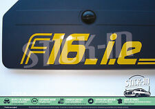 Stickers Autocollant F16ie F16.i.e Renault Clio Williams 16S 19 R19 decal engine