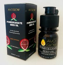 AvoGlow Natural Pomegranate Seed oil, wrinkle reduction, skin rejuvenation 30 ml