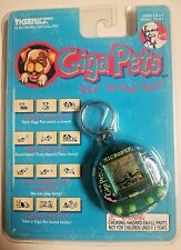 Giga Pets Micro Pup Dog Keychain Tiger Electronics KFC Virtual Pet 1997