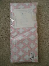 Pottery Barn Kids Baby Crib Clover Geo Fitted Sheet,100% Organic Cotton