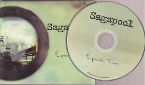 SAGAPOOL Episode Trois (CD 2008) 11 Songs FRENCH ALBUM QUEBEC BAND DIGIPAK