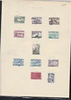 finland 1956-58  stamps page ref 18048