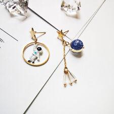 Astronauts Planet Series Stars Circle For Women Ear Jewelry Girls Earrings