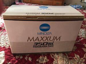 Maxxum 350si Panorama Date 35mm Camera Body New