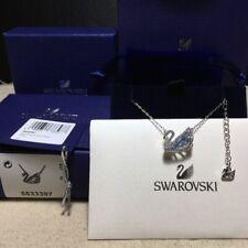 Swarovski ICONIC SWAN Blue swan pendant Necklace jewelry