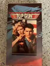 Top Gun Vhs Video Tape Movie Tom Cruise Kelly McGillis Excellent Condition