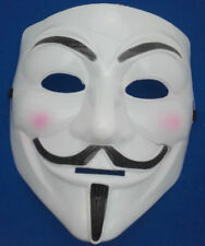 V For Vendetta Single 2D Card Party Face Mask Guy Fawkes Anonymous Weaving