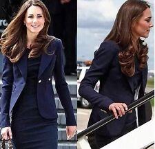 SMYTHE Duchess Kate Black Wool Blazer Size 10