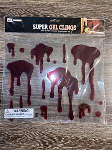 Mello Smello Halloween Super Gel Clings Blood Splattered