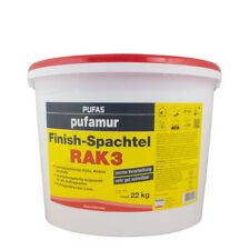 (1,94€/ Kg)Pufas Pufamur Finish-Spachtel RAK 3 22kg, Leichtspachtel