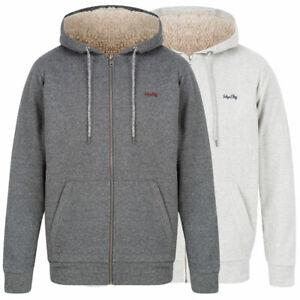 Tokyo Laundry Men's Zip Up Fleece Lined Hoodie Hooded Top Hoody Warm Winter