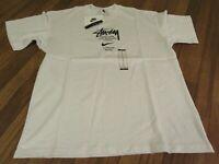 Nike Stussy International Tee T-Shirt Size Medium White Brand New DS NWT