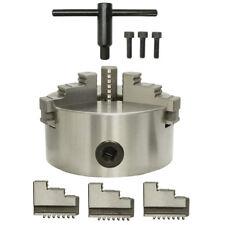"6"" 3-Jaw Self-Centering Chuck Lathe Milling Internal External Grinding Machines"