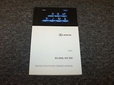 2015 Lexus RX450h RX 450h RX350 350 Navigation System Owner Operator Manual