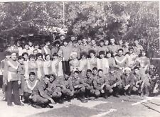 1980s Young men boys recruits soldiers army folk ensemble Russian Soviet photo