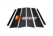 Carbon Fiber Door Pillar Panel Covers Set for  BMW F20 1-Series 5-Door Hatchback