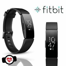 Fitbit Inspire HR Wristband Activity Tracker, Size Small - Black