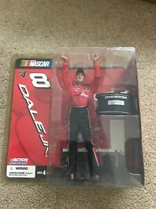 Dale Jr. #8 Action Figure With 2004 Daytona 500 Trophy Action McFarlane