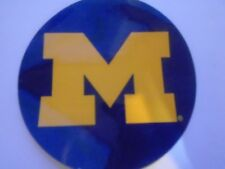UNIVERSITY OF  MICHIGAN  DECAL  OR STICKER FOR AUTOS, WINDOWS AND CORNHOLE GAMES